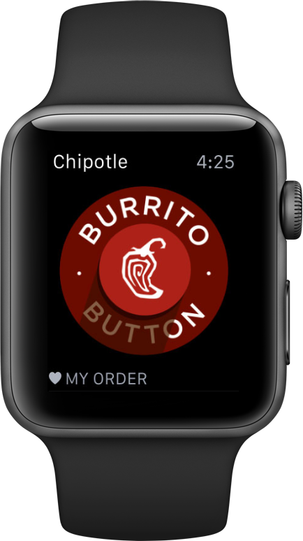 Chipotle Apple Watch